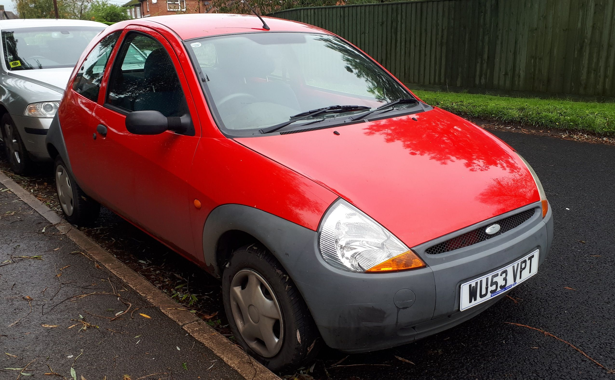 2003 Ford Ka First Generation 1 3l 4 Cylinder Ford Duratec Fwd