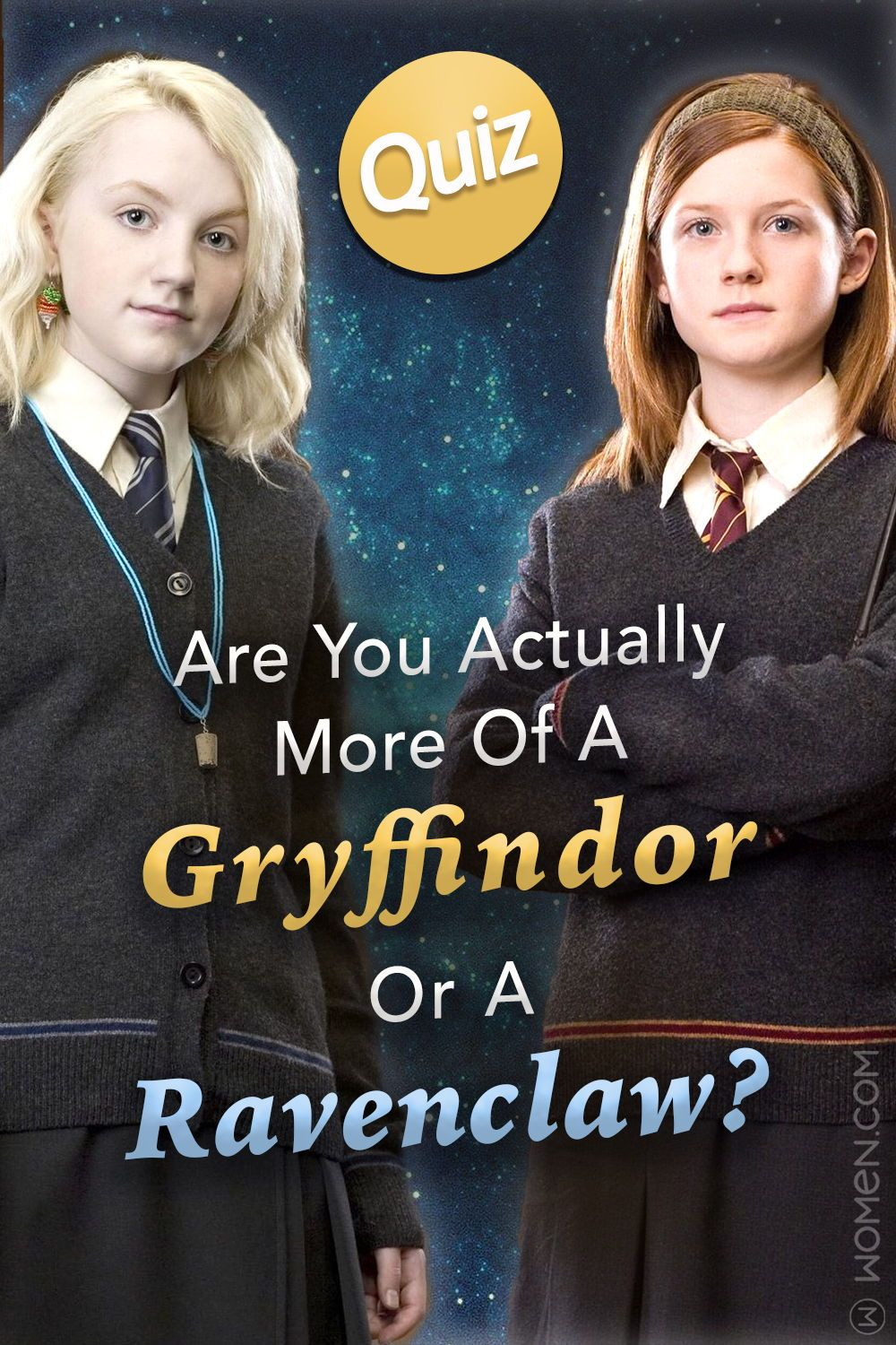 Quiz Are You Actually More Of A Gryffindor Or A Ravenclaw Hogwarts Quiz Harry Potter Quiz Harry Potter Personality
