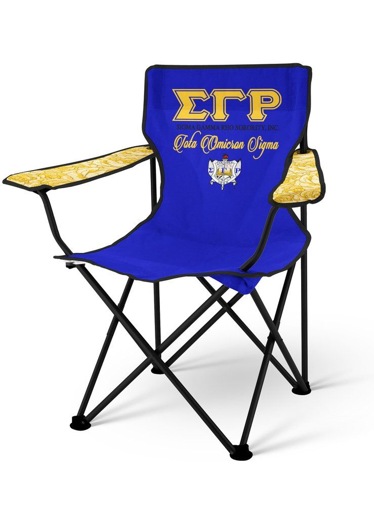 Sgrho Personalized Lawn Chair Sigma Gamma Rho Sorority Folding