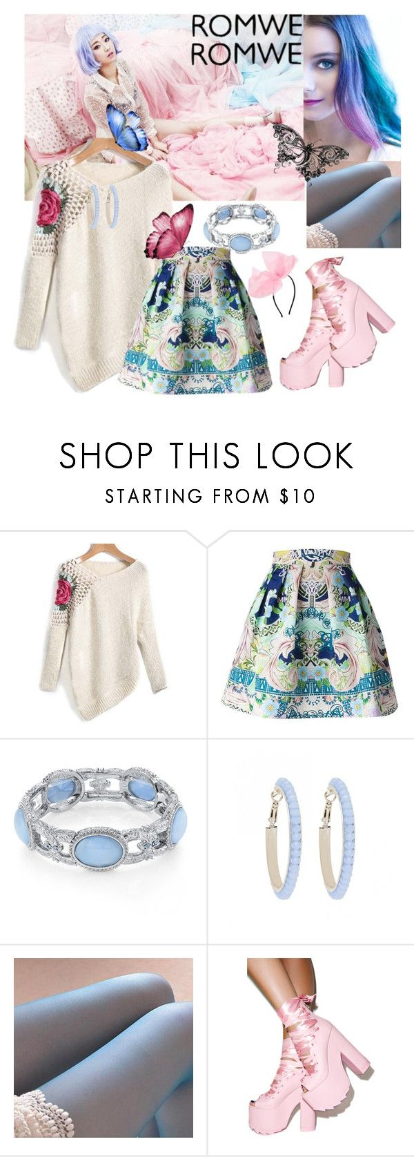"""""""Untitled #123"""" by sara-bitch1 ❤ liked on Polyvore featuring Mary Katrantzou, 1928, Forever New, LA SHOP, Y.R.U. and ASOS"""