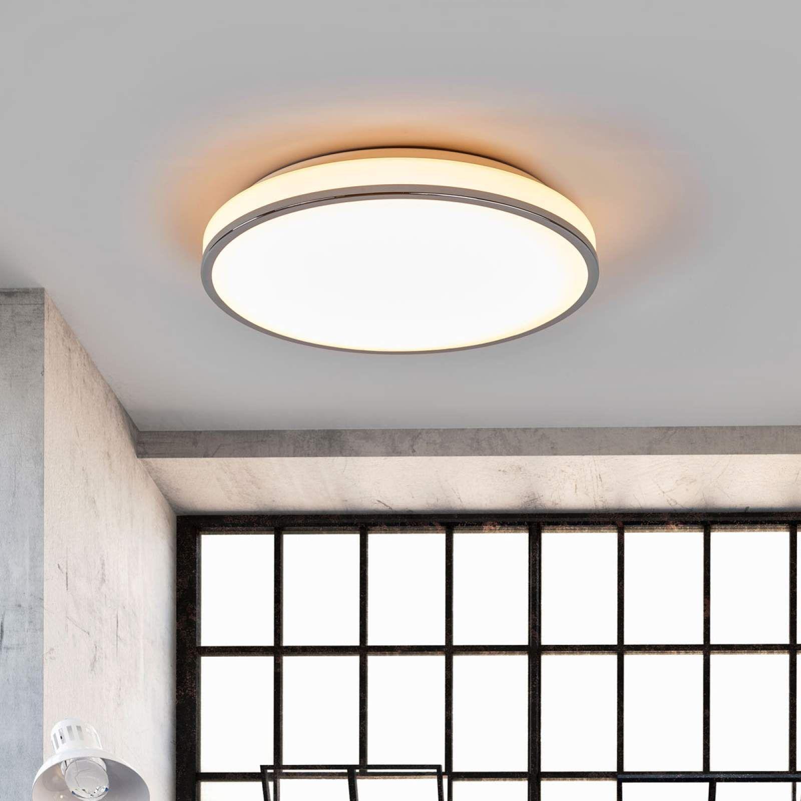 Moderne Deckenleuchte Von Lampenwelt Com Weiss Badezimmer Licht