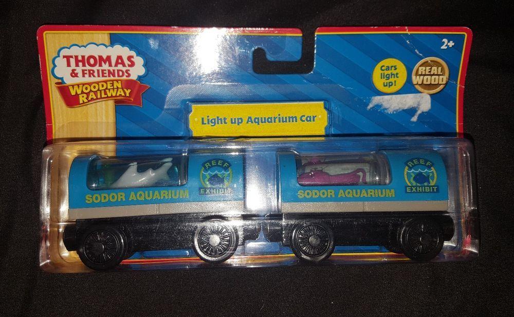 Thomas Friends Wooden Railway Aquarium Train Cars Reef Exhibit