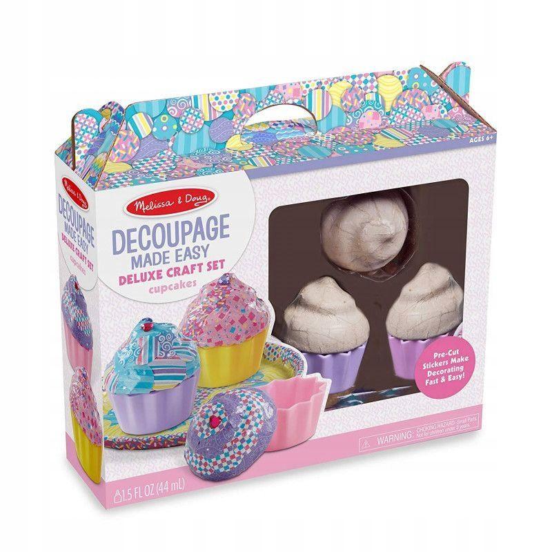 Melissa Doug Zestaw Do Ozdabiania Babeczki 40108 Craft Set Craft Kits For Kids Decoupage
