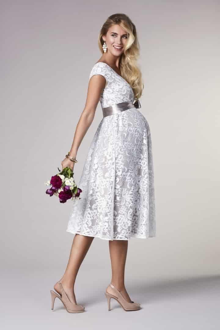 a6ac00e48 Vestidos de novia para embarazadas  todo lo que debes buscar ...