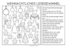 weihnachtliches lesegewimmel vorschule weihnachten. Black Bedroom Furniture Sets. Home Design Ideas
