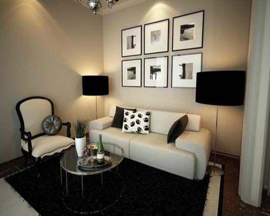 Ubicacion de muebles en una sala clasica buscar con for Muebles para apartamentos muy pequenos
