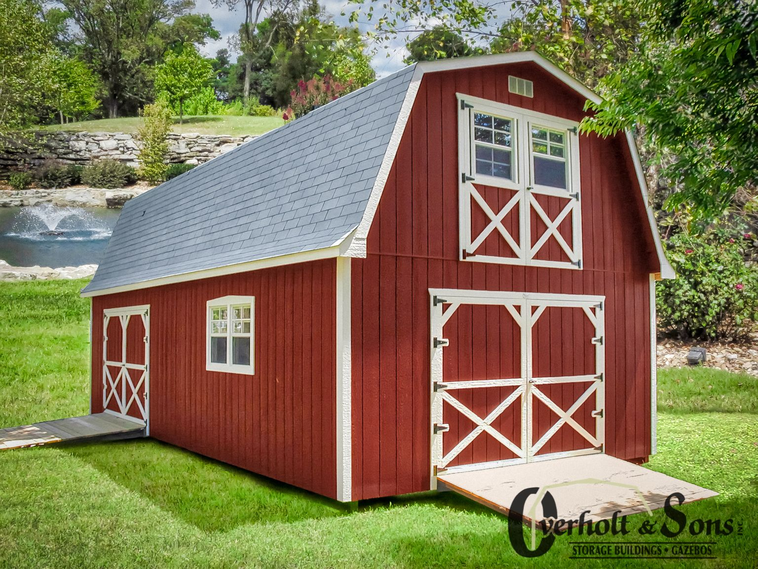 Prefab Garage for Sale in KY & TN | Modular barns, Shed to ...