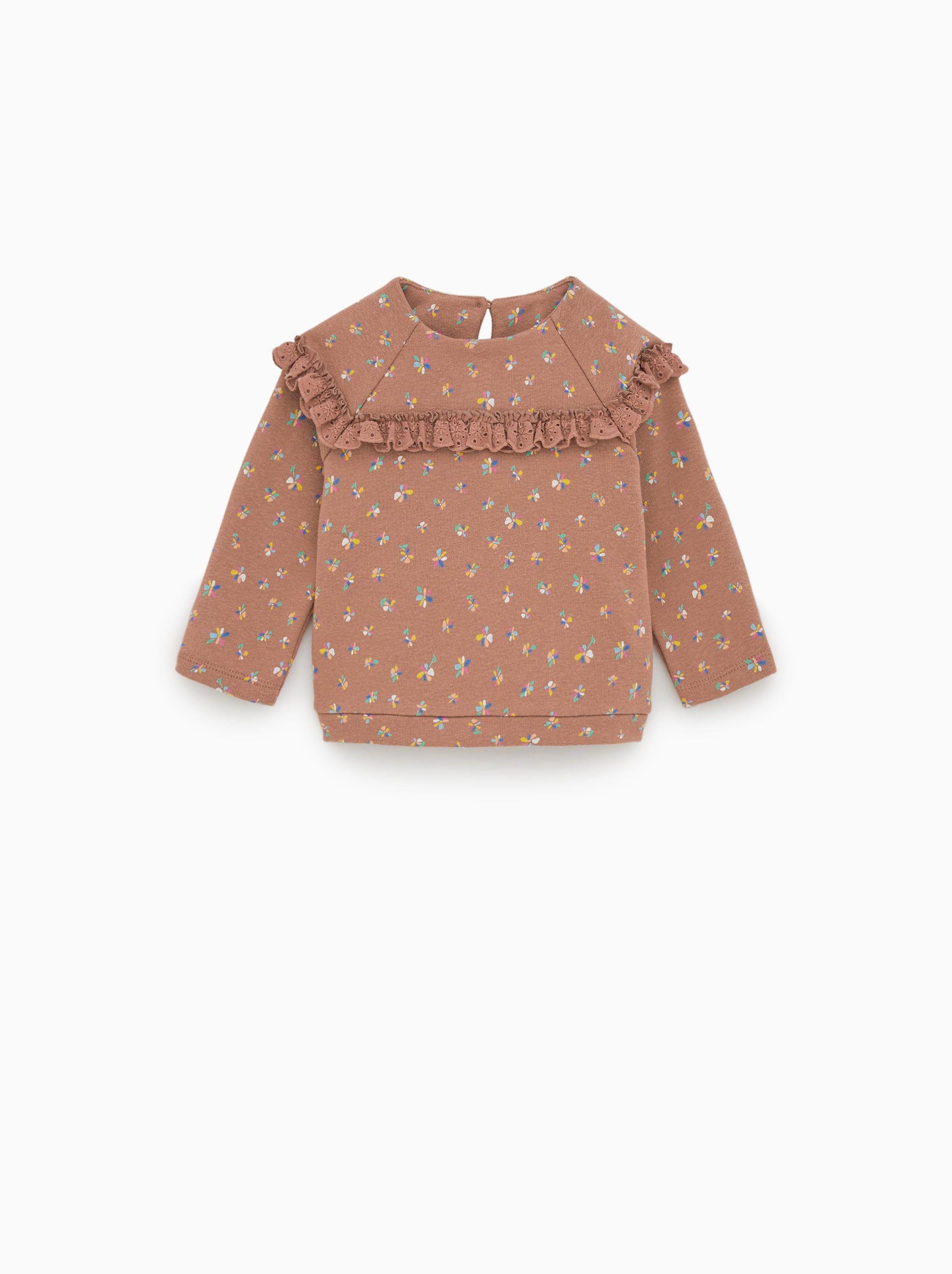 FLORAL SWEATSHIRT-SWEATSHIRTS-BABY GIRL  d455374b546