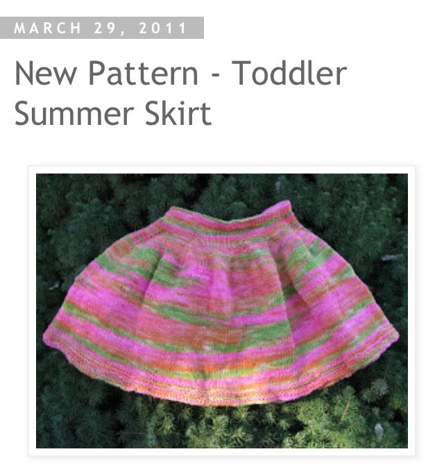 http://chickenstitches.blogspot.com/2011/03/new-pattern-toddler-summer-skirt.html?m=1  Free pattern - so cute, looks easy!
