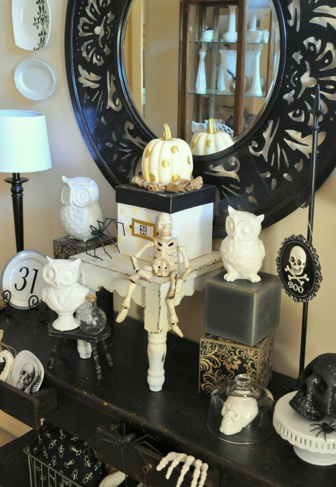 20 rustic halloween decorations ideas - Rustic Halloween Decorations