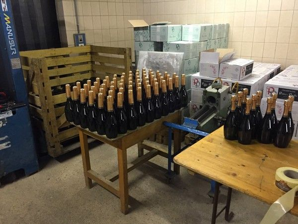 Champagne Patis Paille. Making of Champagne
