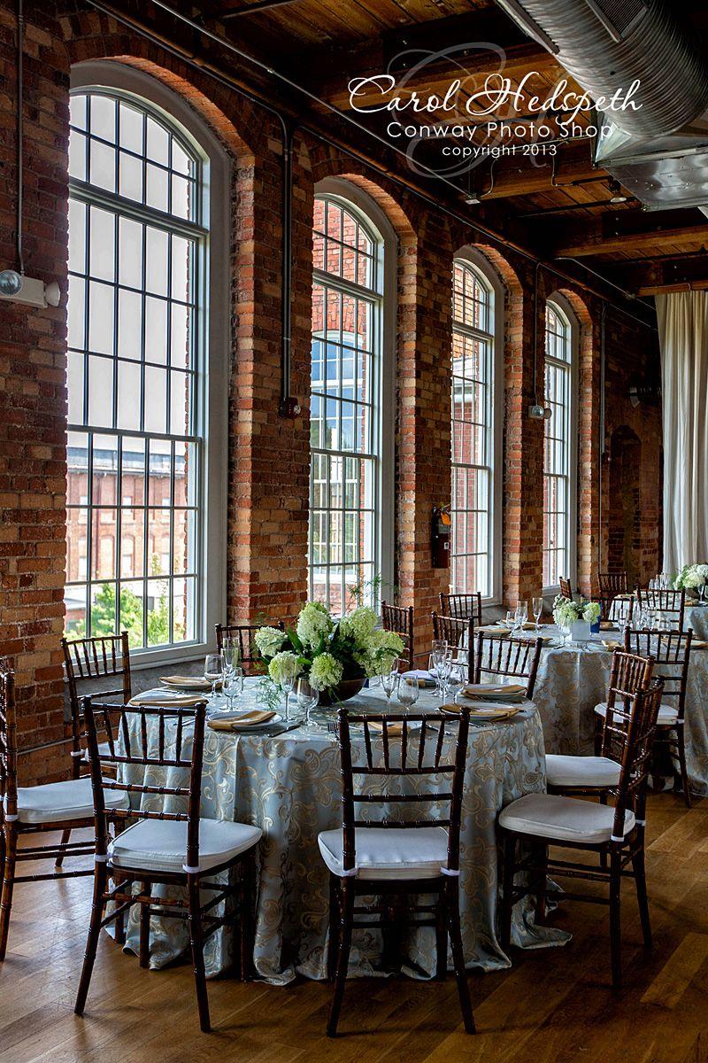 North Carolina Wedding Photographer Carol Hedspeth Conway Photo Shop Downtown Durham The Cotton Room Venue