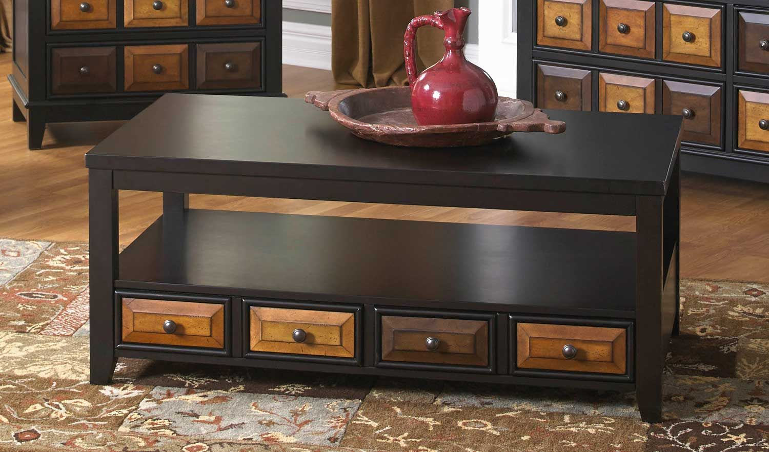 Jackson 857 Series Cocktail Table With Apothecary Drawer Jf 857 40 At Homelement Com Jackson Furniture Furniture Living Room Furniture [ 882 x 1500 Pixel ]