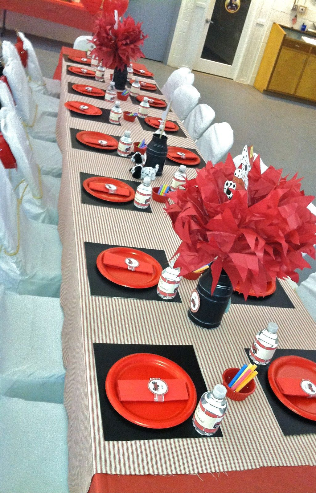 Fire fighter party I did in December. Firefighter party