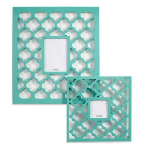 Zgallerie Love These Mimosa Frames Aquamarine From Z