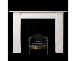 Thomas Hope Limestone Fireplace