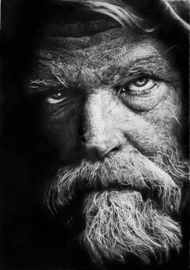 Photorealistic pencil drawings by franco clun