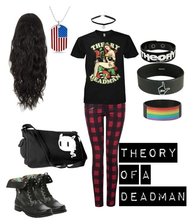 """Theory of a Deadman"" by cpfandomlover ❤ liked on Polyvore featuring Dex, Bling Jewelry and theoryofadeadman"