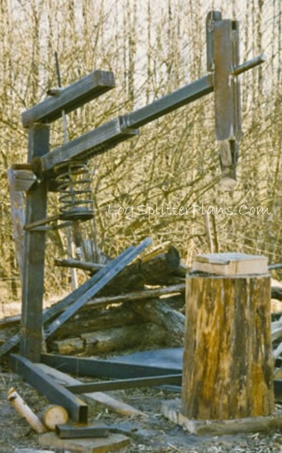 Spring Assist Manual Log Splitter | Build-it-Yourself ...