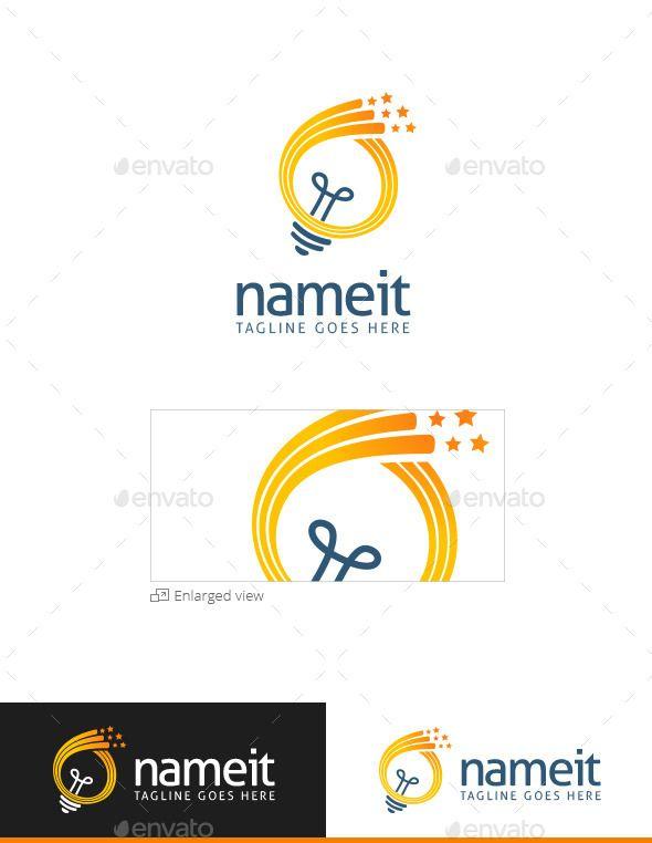 Creative Light Logo Design Template Download Http Graphicriver