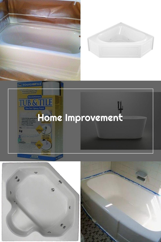 Homax Tough As Tile Epoxy Tub Tile Spray Paint In 2020 Tub Tile Painting Bathtub Tub