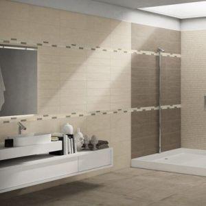 Piastrelle per rivestimento bagno e cucina effetto moderno - Bagno moderno piastrelle ...