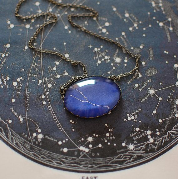 Hey, I found this really awesome Etsy listing at https://www.etsy.com/listing/104504807/taurus-constellation-necklace-taurus