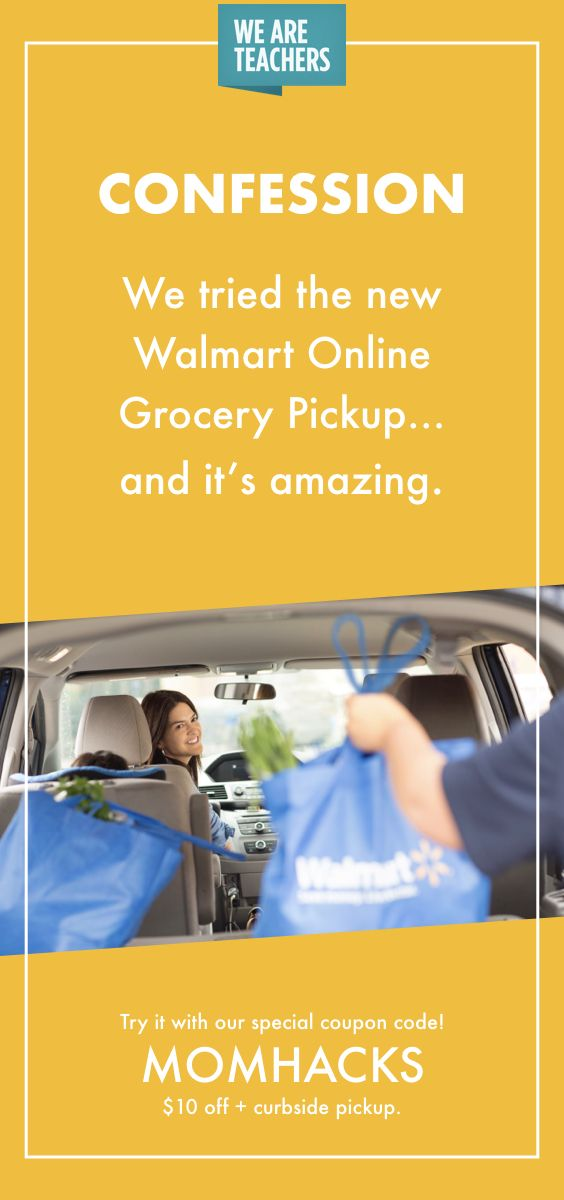 Great Deals And Time Savers With Coupon Codes For Online Grocery Pick Up Perfect For Busy Teacher Moms Eat Healthy By P Walmart Online Grocery Online Grocery
