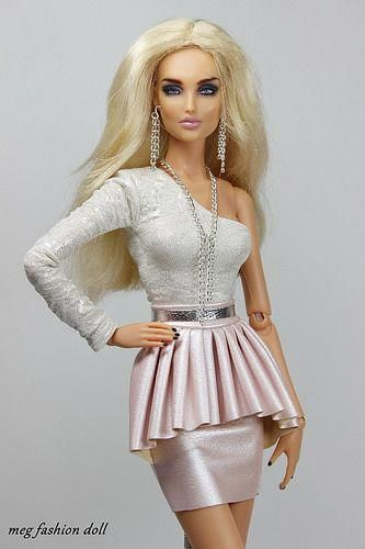 New outfit for Kingdom Doll / Deva Doll/ '' CHIC V '' #barbie