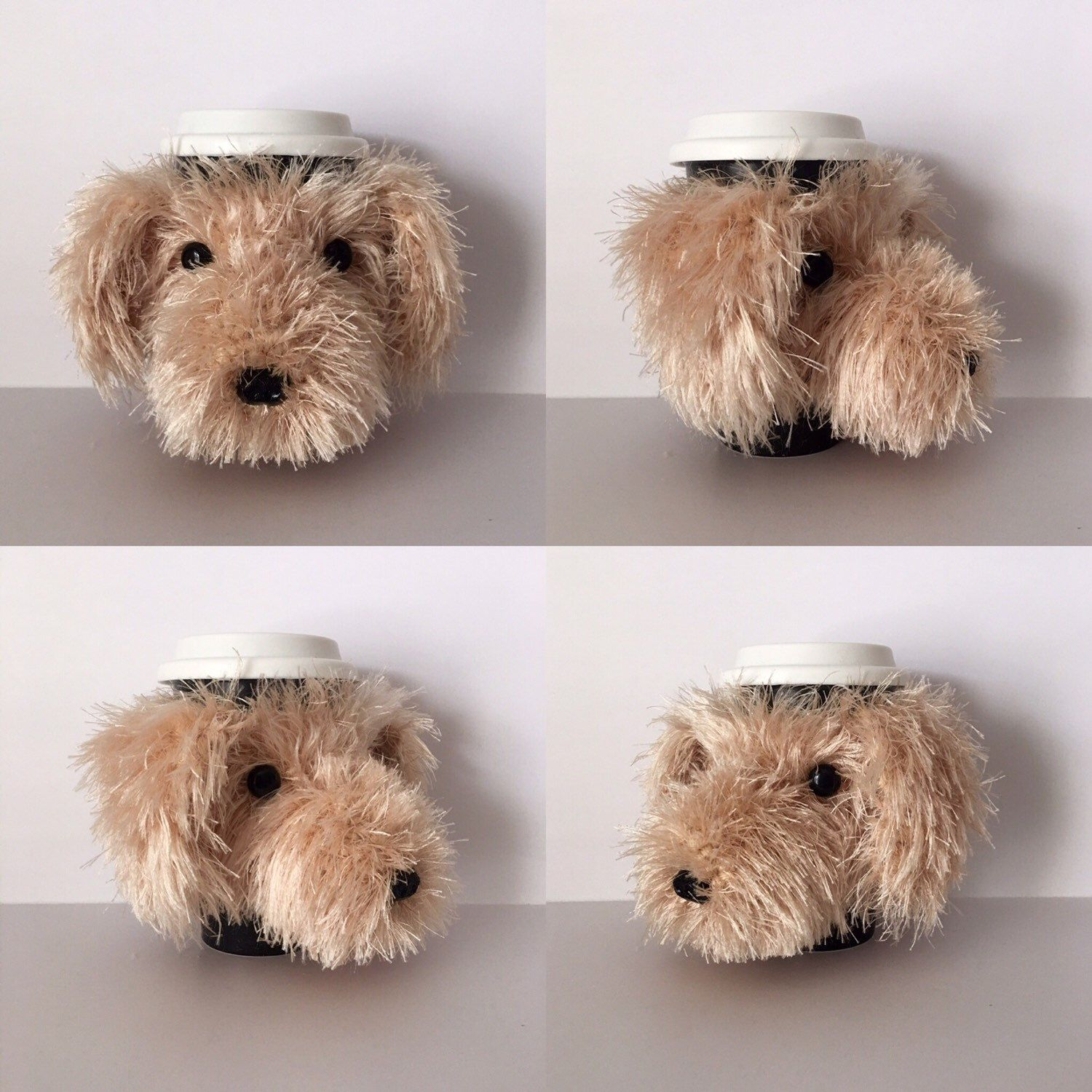 The Labradoodle Mug Cozy is now available as a crochet pattern ...