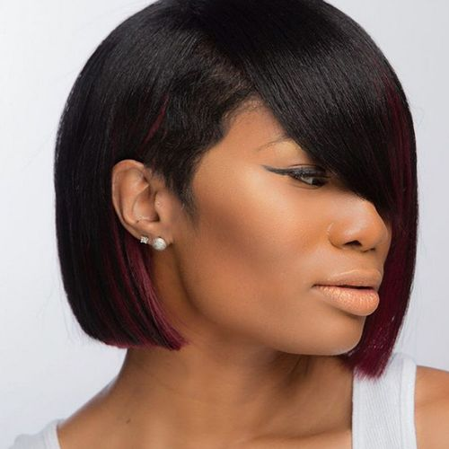 Take A Look At These Trendy Stylized Edgy And Clic Bob Haircuts For Black Women That Always Make One Stand Out In Crowd