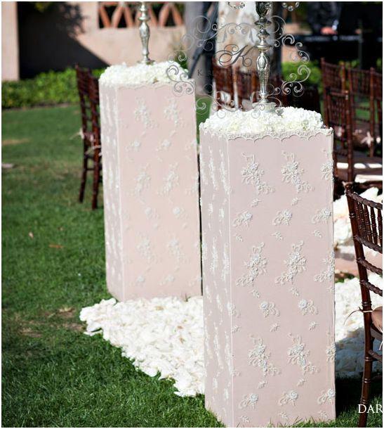 Flower Aisle Wedding: Wedding Altar And Aisle Decorations