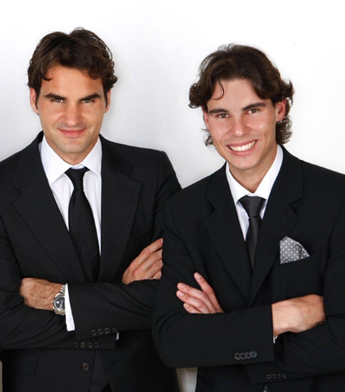 Rafael Nadal Photo Rafa And Roger As Brothers Tennis Champion Rafael Nadal Roger Federer