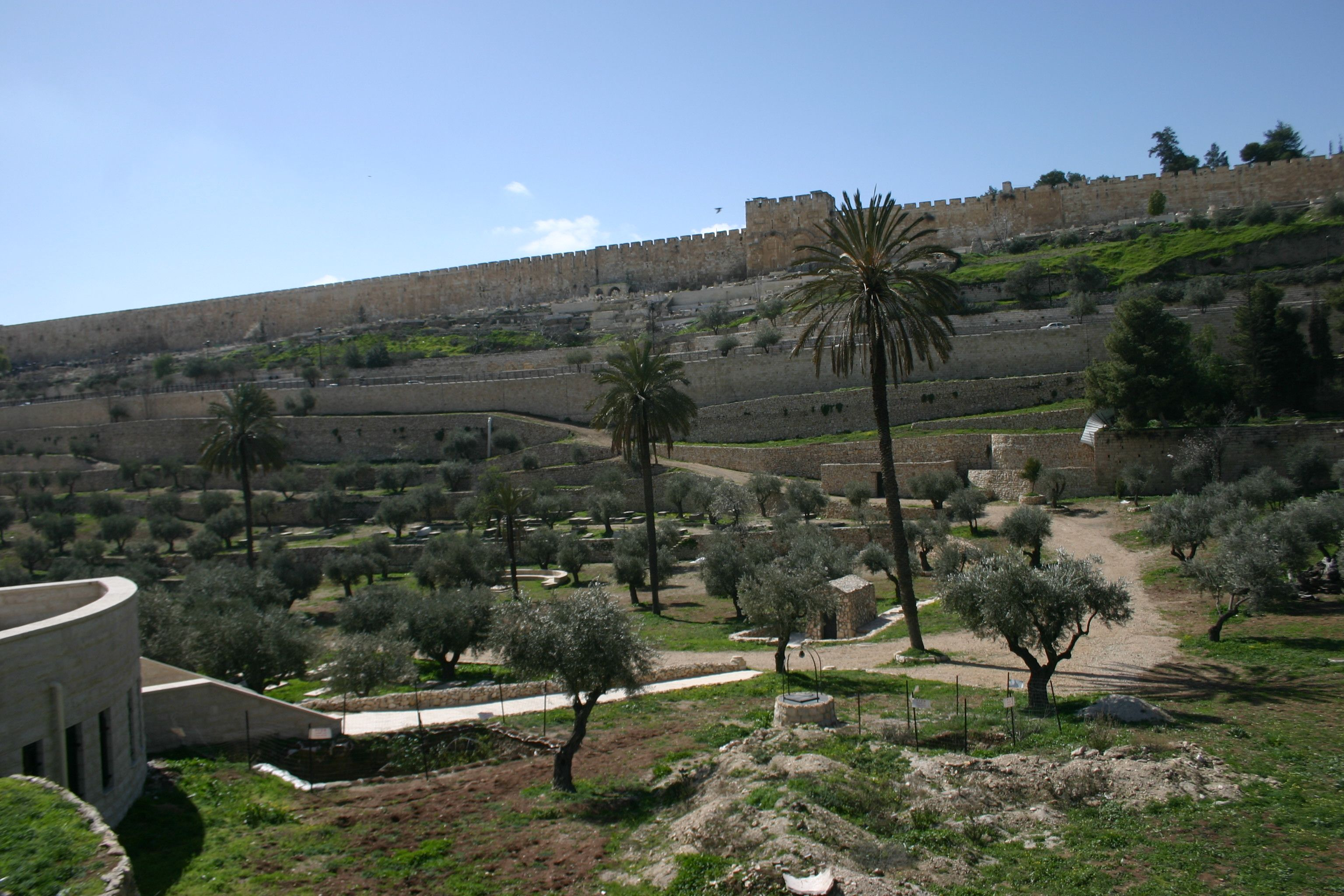 Retrace the steps of Christ after his arrest in the Garden of Gethsemene and through the Kidron Valley