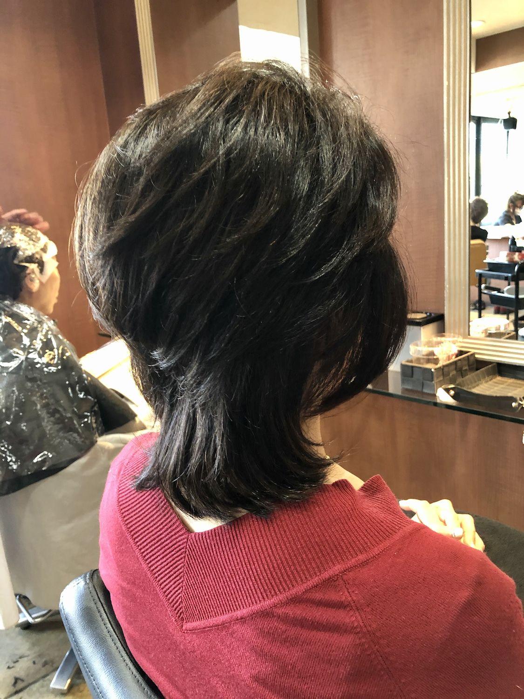 40代50代60代ヘアスタイル髪型 50代髪型 50代ミディアム 2020