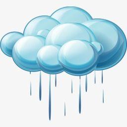Rainy Day Water Cycle Cartoon Clip Art Clip Art