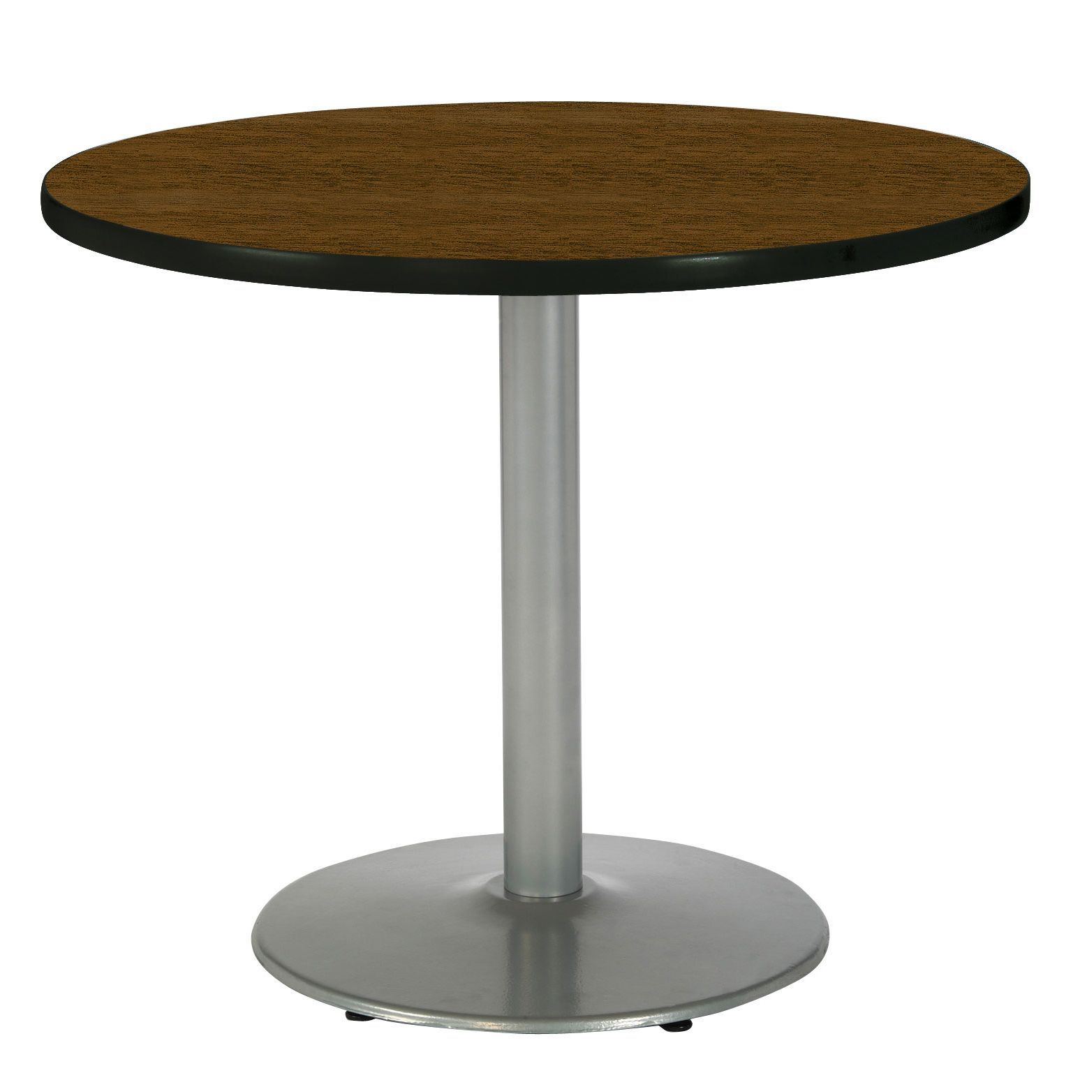 Inch Round Pedestal Table With Round Silver Base Products - 36 inch round office table