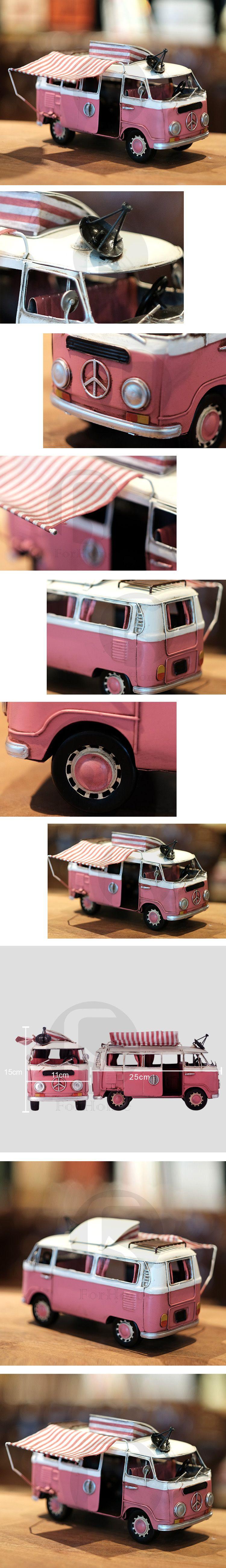 Photo of [ ForHome ]  CD-0012 Britische Retro notleidende handgefertigte Eisenteile van Modell Wohnmobil Display Shop Dekorationen Geschenk-Y …