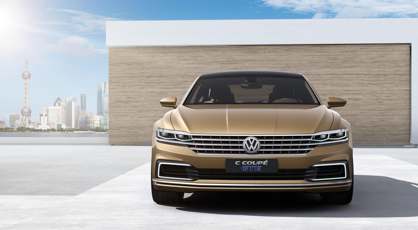 The Volkswagen C Coupe Gte