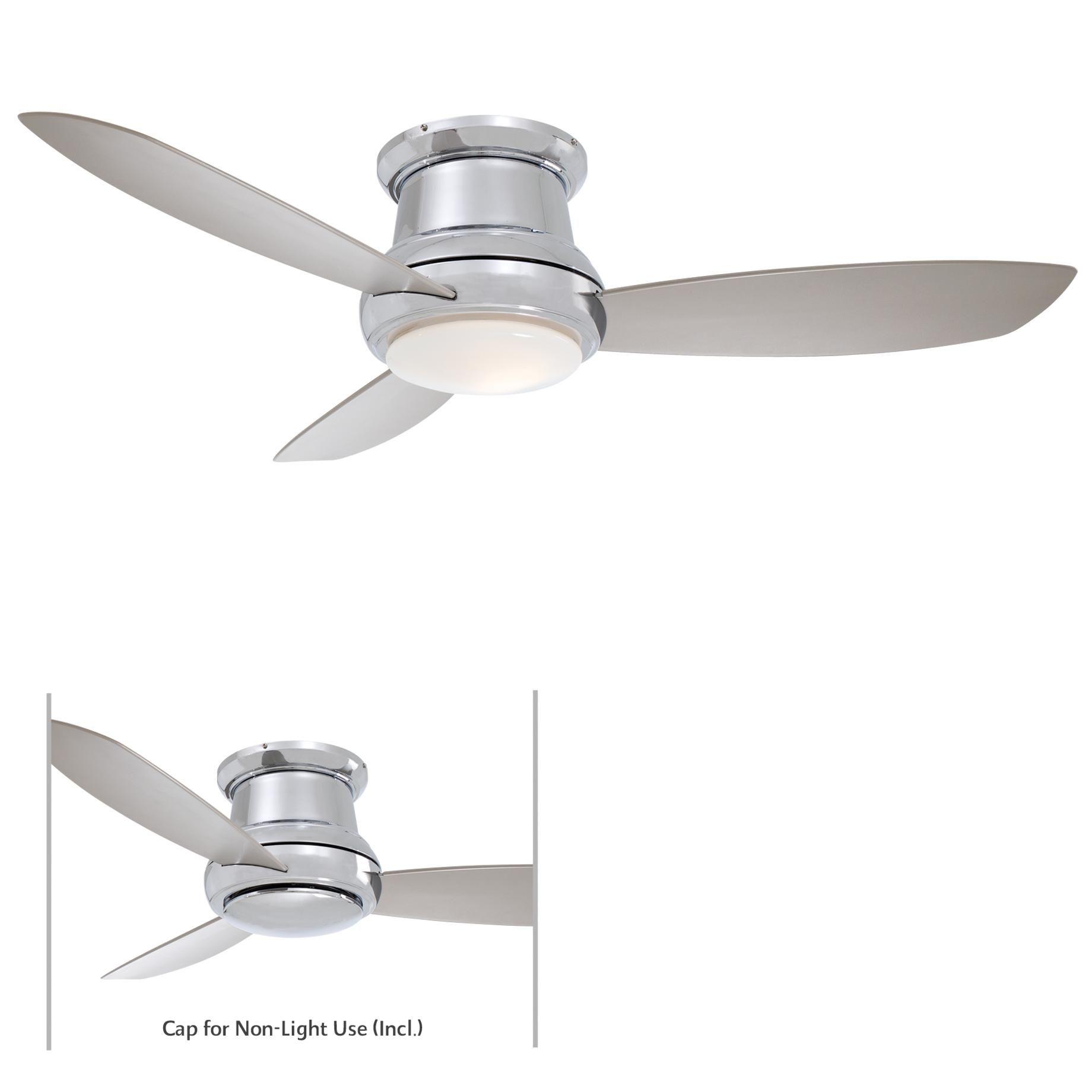 Minka Aire Concept II 52 F519 PN Airflow Rating 6300 CFM Cubic