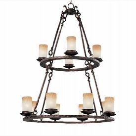LightingShowroom.com: Notre Dame Oil Rubbed Bronze Chandelier, $848.00
