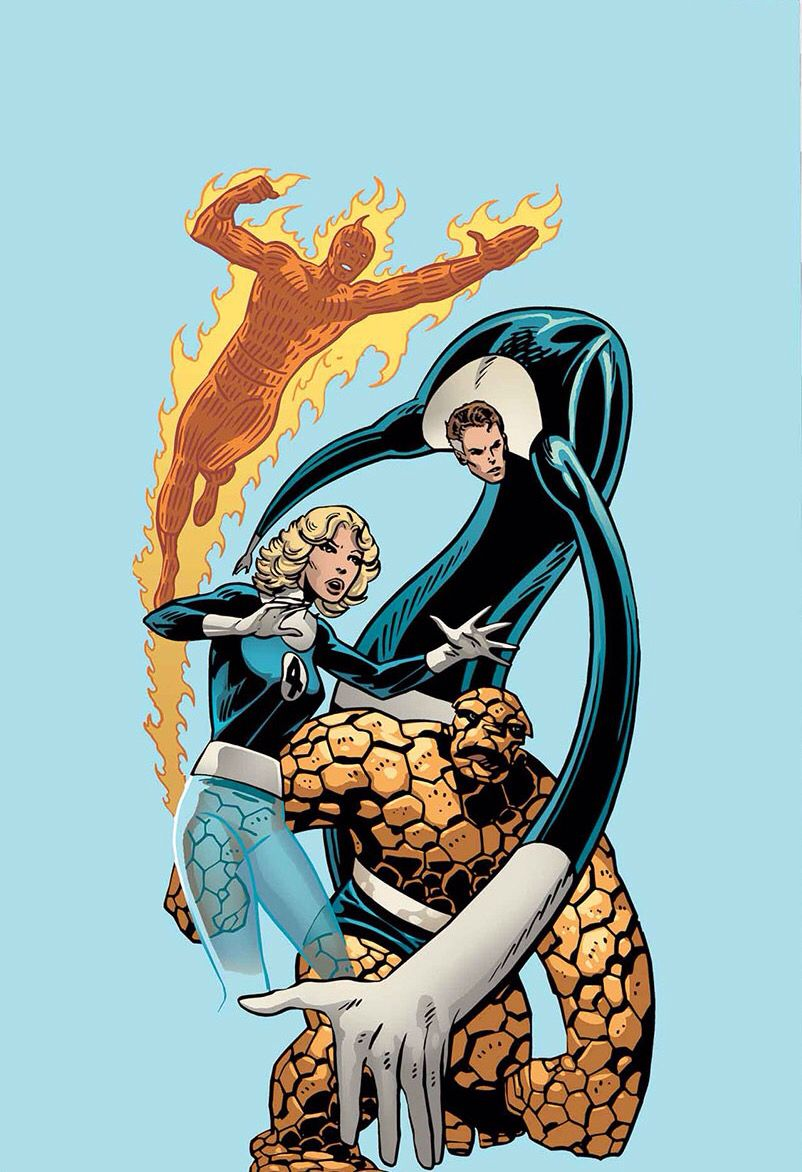 The Fantastic Four By John Byrne Fantastic Four Comics Fantastic Four Marvel Fantastic Four