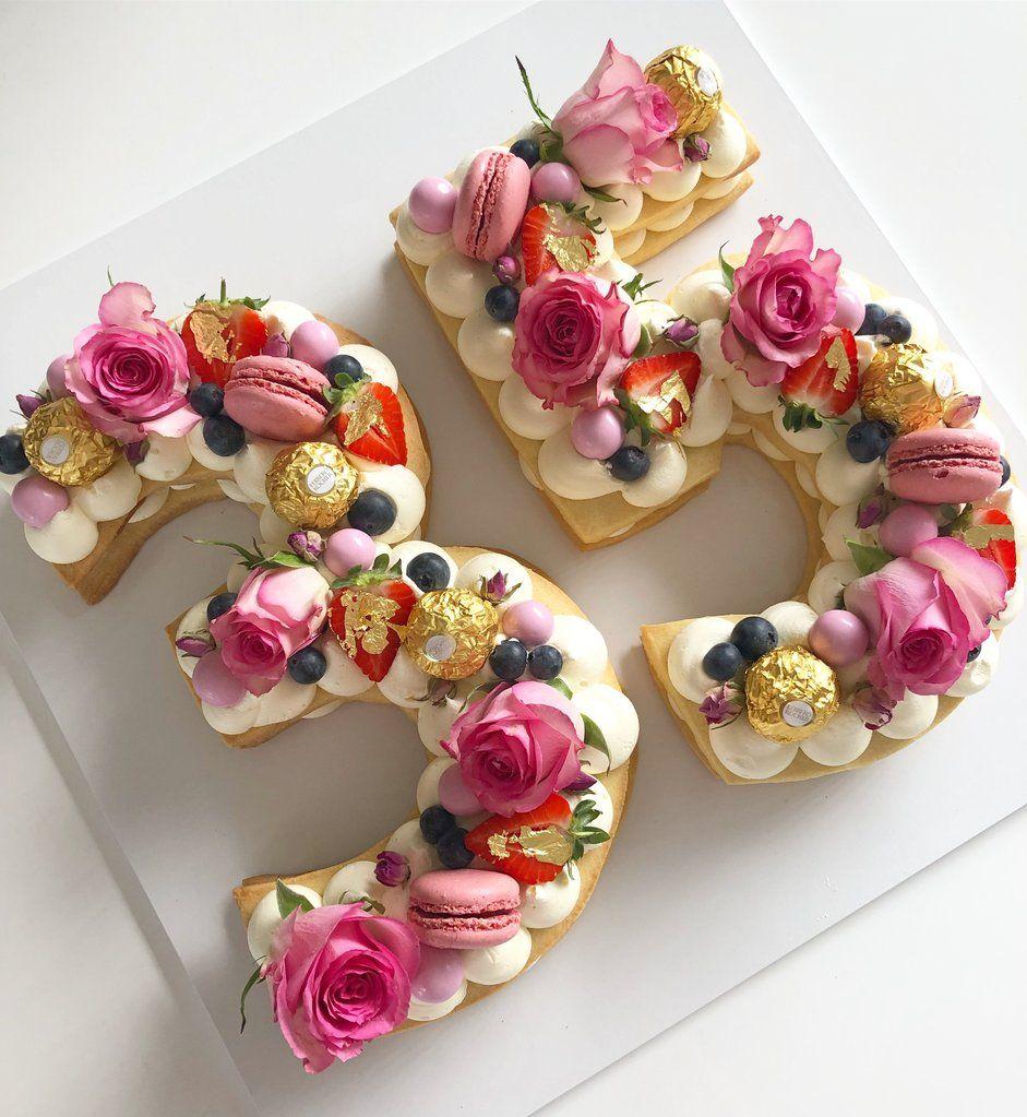 Custom numberletter cookie cake cookie cake online