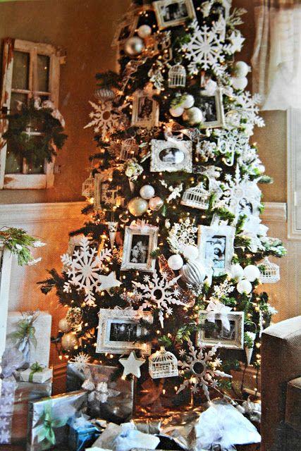 For The Love Of White Sugar Plum Christmas Shabby Chic Christmas Tree Christmas Tree Design Pastel Christmas Decor