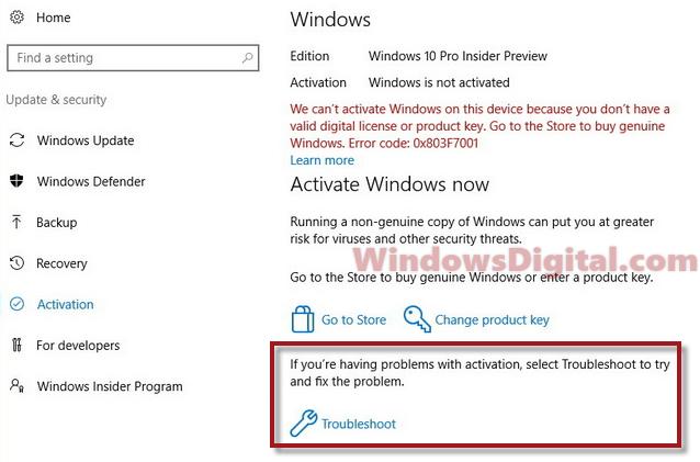 Windows 10 Digital License Product Key Free Activator Not Working Windows 10 Windows Digital