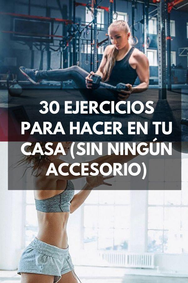 30 ejercicios para hacer en tu casa [VIDEO]