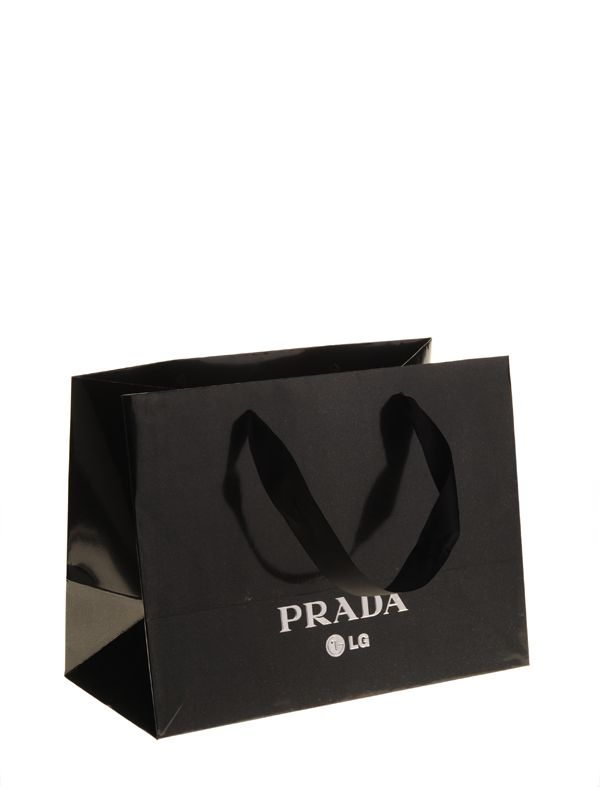666c5af960f4 LG Prada luxe papieren draagtas Paper Carrier Bags, Paper Bags, Shopping Bag  Design,
