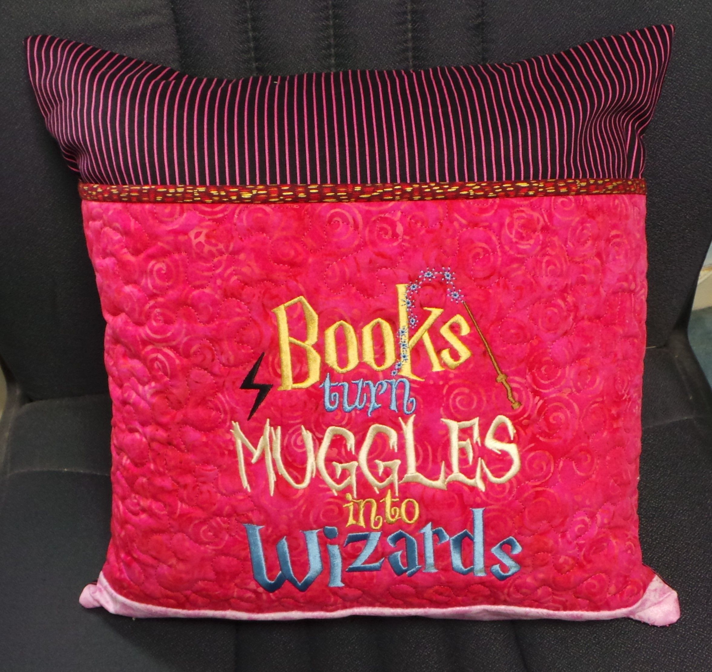 Reading pillow cover size