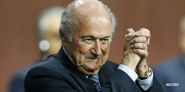 FIFA President @SeppBlatter wins a 5th term and more of today's top news: http://on.wsj.com/1eE7GDK