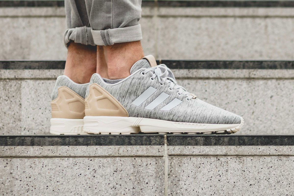 40ca66f11c348 The adidas ZX Flux Solid Grey is now available internationally ...